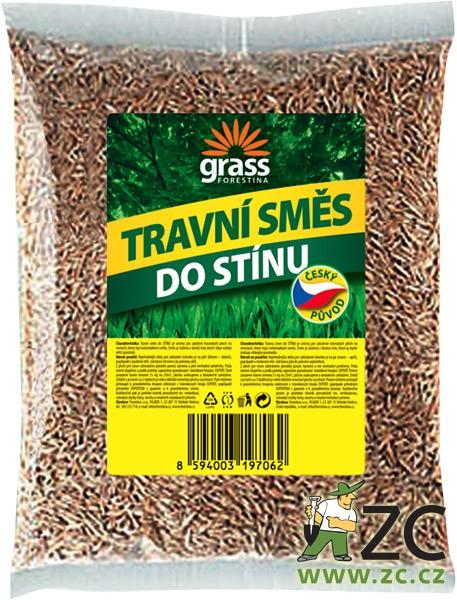 Travní směs Grass - do stínu 500 g Popis:Travní směs GRASS - do stínu je určena pro založení travnatých ploch na místech