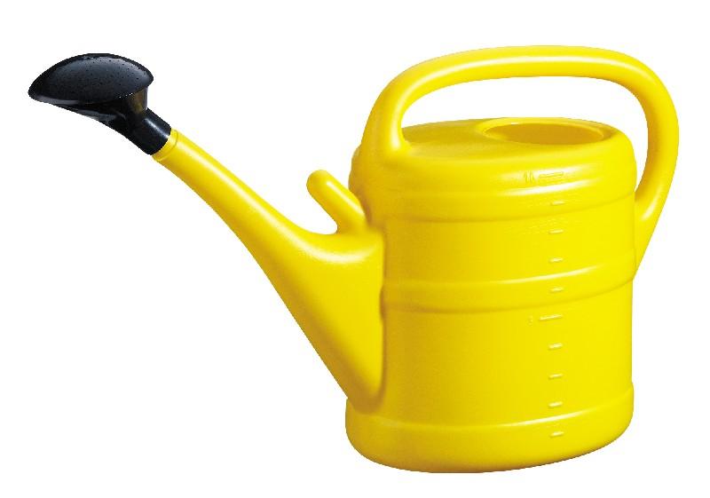 Konev 10L s kropítkem žlutá Konev s kropítkem- materiál:plast- barva:žlutá- objem:10l