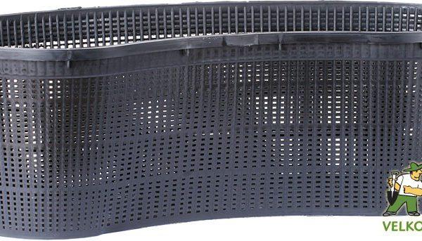 Koš na vodní rostliny - obloukovitý 45x18x15 cm Popis:Koš z pevného plastu vhodný pro vodní rostliny. Zabraňuje jejich rozrůstání. Snižuje zanášení živin do nádrže. Neobsahuje regeneráty