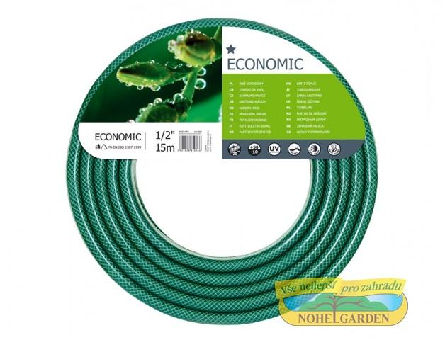 Hadice Ekonomik 1/2 15 m Třívrstvá zahradní hadice je odolná vůči UV záření