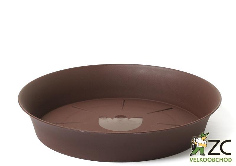 Miska Tulipán 35 cm čokoládová Popis:Miska pod květináč v matném provedení s vyšším okrajem bez lemu.Materiál:plastBarva:čokoládováRozměry:horní průměr: 35 cmspodní průměr: 30 cmvnitřní průměr: 29