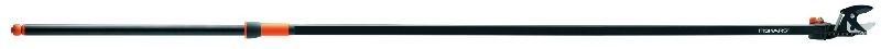 Nůžky housenice 4 m Fiskars Nůžky housenice 4m- 1200 g- 2322 mm- max. stříhaný průměr 32- možnost zakoupení náhr. dílů - 115367- dosah stříhání přes 4m- k nůžkám se může připojit jeden prodlužovací nástavec 110460- nastavitelná střihací hlava