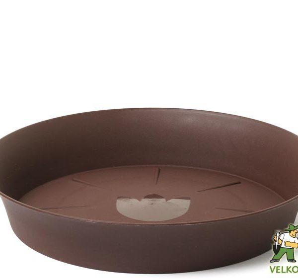 Miska Tulipán 30 cm čokoládová Popis:Miska pod květináč v matném provedení s vyšším okrajem bez lemu.Materiál:plastBarva:čokoládováRozměry:horní průměr: 30 cmspodní průměr: 25