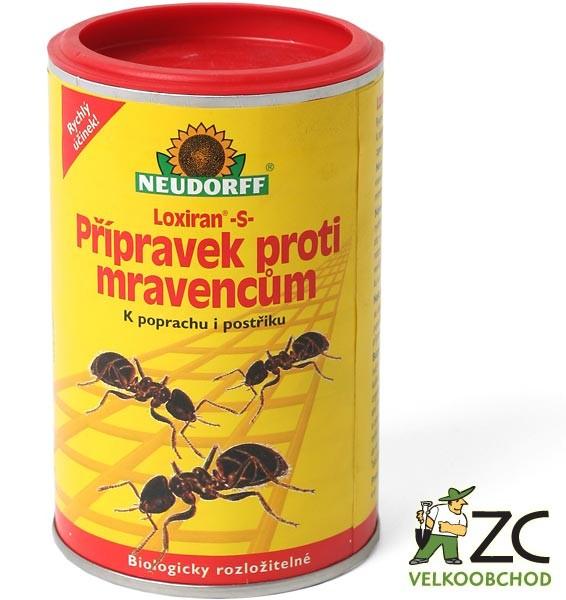 Loxiran Neudorff - mravenci 100 g Účinná látka: pyrethrin 1