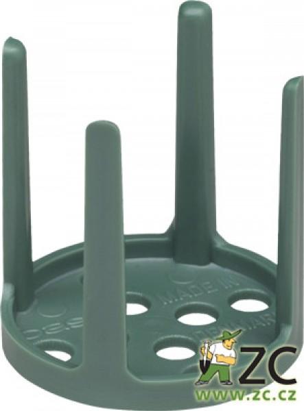 Oasis pinholder - na aranžovací hmotu zelený 3 cm Popis:Plastová fixační pomůcka pro uchycení svíček