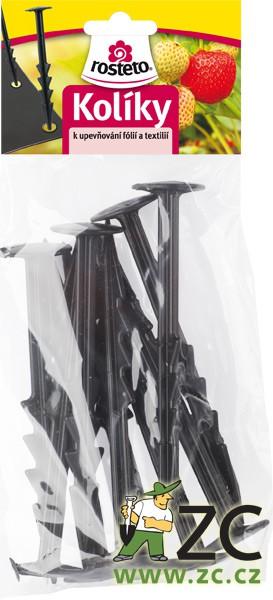 Kolík k upevňování folií - stromeček 15 cm (sada 10 ks) Popis:Praktický kolík z plastu k upevnění fólie