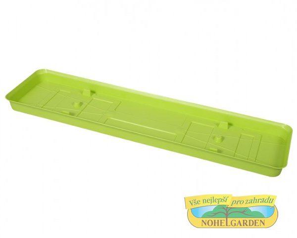 Podmiska pod truhlík Verbena 50 cm zelená Podmiska je vhodná pro truhlík VERBENA
