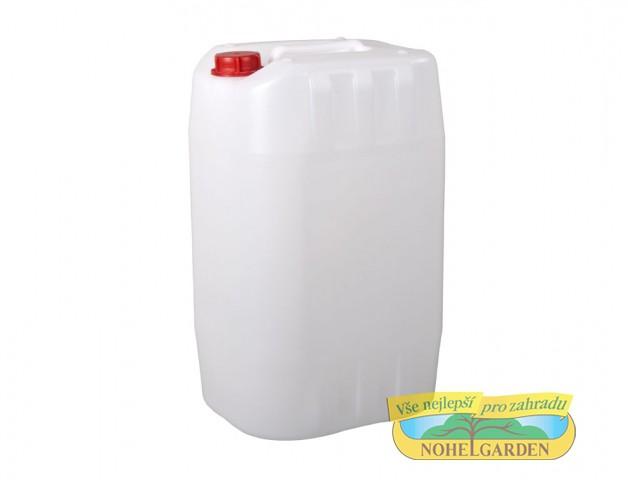 Kanystr stohovatelný 15 l Plastový lehčený kanystr včetně uzávěru je vhodný ke skladování a přepravě kapalných látek v chemickém