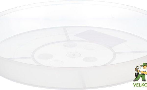 Miska na orchideje 16 cm čirá Popis:Průhledná plastová miska