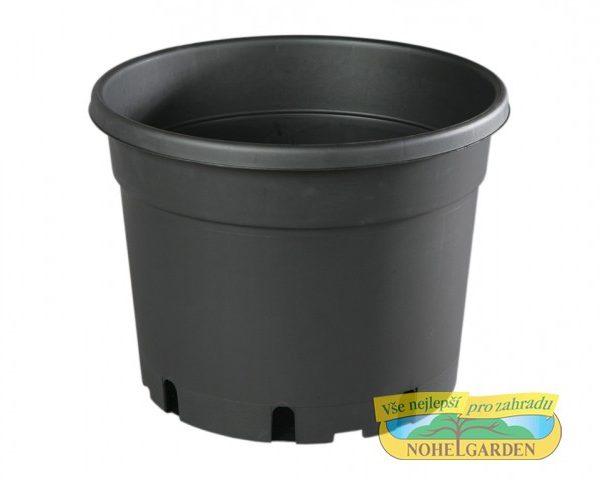 Květináč CLASSIC MCD 40 cm černý 25 l Plastový černý lehčený v půdorysu kruhový květník vyrobený vakuovým tvarováním. Používá se zejména pro předpěstování rostlin a pro umístění do různých obalů určených pro květníky s rostlinami v interiéru i v exteriéru. Rozměry: d. 40 x v. 30cm