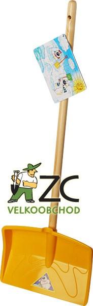 Hrablo plastové - dětské Teddy s násadou 77 cm Popis:Dětské plastové hrablo na sníh. Dodáváno v mixu barev s násadou vyrobenou z kvalitního dřeva. Součástí je puzzle pro děti.Rozměr:Rozměry hrabla: 21 x 29 cm.Násada:Násada dřevěná: 86 cm.
