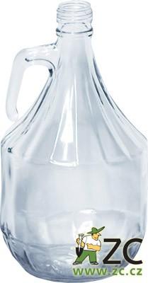 Demižon holý 2 l Popis:Skleněný demižon k uchování lihovin. Rozměr zátky vhodný k demižonu 24 x 28/25 mm - kód 720070.Rozměr:výška: 28 cmvnitřní průměr hrdla: 1