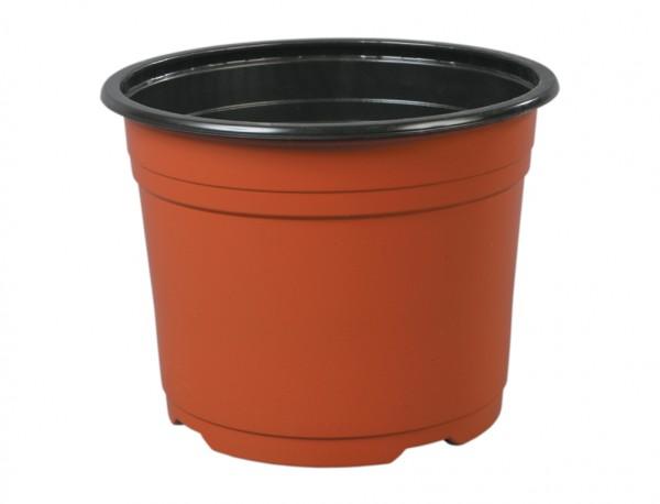 Květináč PREMIUM VCD 21 cm terakota 4 l Plastový lehčený černý  v půdorysu kruhový květník. Používá se zejména pro předpěstování rostlin a pro umístění do různých obalů určených pro květníky s rostlinami v interiéru i v exteriéru. Rozměry: d. 20