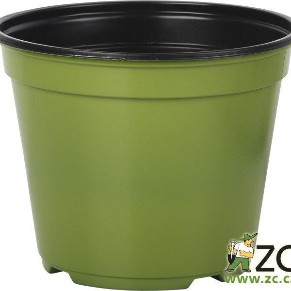 Kontejner Arca 14 cm zelený Popis:Speciální kulatý plastový kontejner je určený pro výsadbu a pěstování rostlin. Je tenkostěnný a k dispozici v několika barvách. Svou cenou se řadí mezi levnější a lehce dostupné plasty.Materiál:plastBarva:zelenáRozměry:průměr: 14 cmvýška: 11 cm