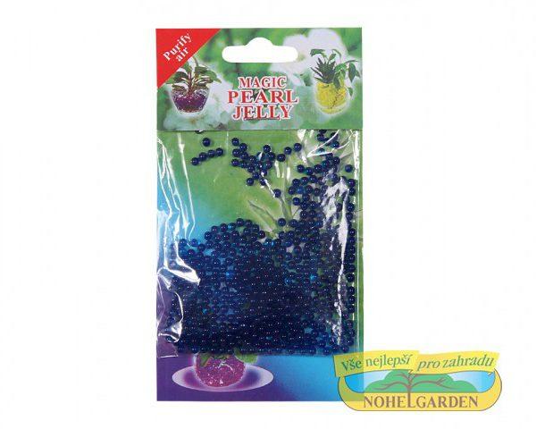 Gelové perličky - modré 10 g 700 ml Gelové perly nazývané též jako vodní perly