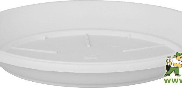 Miska Similcotto 25 cm bílá Popis:Miska pod květináč v barvě bílé