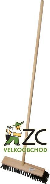 Kartáč silniční 40 cm s holí 140 cm Popis:Silniční kartáč s dřevěnou násadou.Rozměr:Rozměr kartáče: 40 x 7 cm