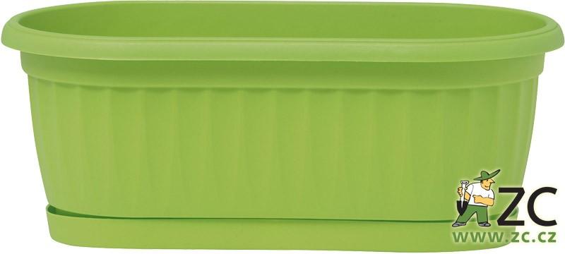 Truhlík Similcotto Mini 22 cm zelený Popis:Plastový mini truhlík s dezénem a miskou v zelené barvě .Materiál:plastBarva:zelenáRozměry:délka: 22 cmšířka: 11