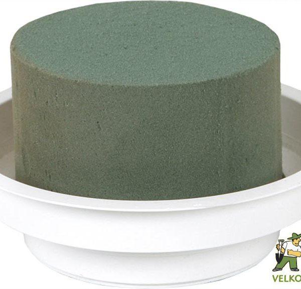 Florex - aranžovací miska 6 ks Popis:Aranžovací hmota vysoké kvality pro živé rostliny ve tvaru puku v bílé plastové misce. Z důvodu možného poškození prodáváme florex pouze po celých baleních.Rozměr:průměr florexu: 8 cm výška florexu : 5 cm průměr misky: 12 cm výška misky: 3