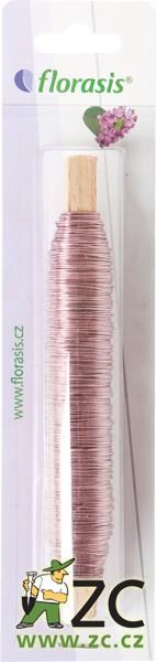 Drát měděný - 100 g růžový (0