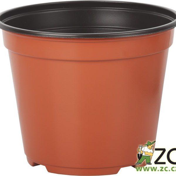 Kontejner Arca 17 cm teracota 2 l Popis:Speciální kulatý plastový kontejner je určený pro výsadbu a pěstování rostlin. Je tenkostěnný
