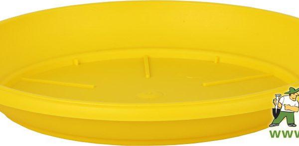 Miska Similcotto 25 cm žlutá Popis:Miska pod květináč v barvě žluté