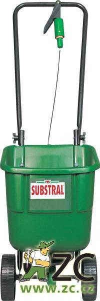 Rozmetač hnojiv pojízdný Substral Popis:Univerzální všestranně použitelný vozík ke hnojení. Rukojeť ve tvaru U