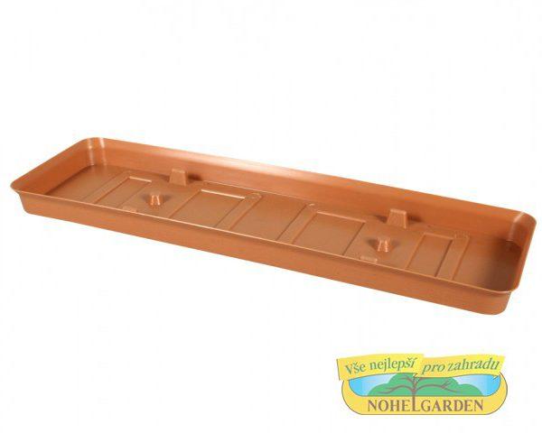 Podmiska pod truhlík Verbena 60 cm terakota Podmiska je vhodná pro truhlík VERBENA