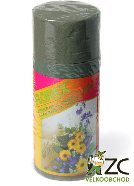 Florex - puk 8x5 cm (4 ks) Popis:Aranžovací hmota vysoké kvality pro živé rostliny ve tvaru puku