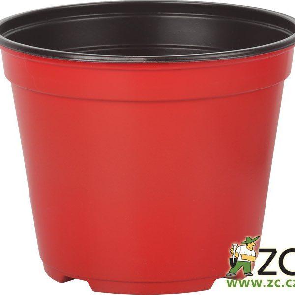Kontejner Arca 14 cm červený Popis:Speciální kulatý plastový kontejner je určený pro výsadbu a pěstování rostlin. Je tenkostěnný a k dispozici v několika barvách. Svou cenou se řadí mezi levnější a lehce dostupné plasty.Materiál:plastBarva:červenáRozměry:průměr: 14 cmvýška: 11 cm