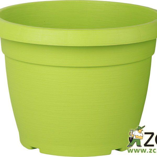 Květináč Similcotto broušený 25 cm zelený Popis:Květináč s dezénem a odtokovými otvory v barvě zelené.Miska vhodná ke květináči: Similcotto 25 cm.Materiál:plastBarva:zelenáRozměry:průměr: 25 cmvýška: 19 cm
