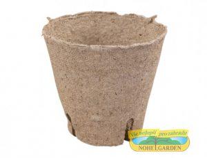 Květináč rašelinový se zářezy - průměr 8 cm Květináč rašelinový- pěstováním rostlin v rašelinových kelímcích se usnadňuje práce s odstraněním plevelů a škůdců- rostliny dosahují dobrého růstů