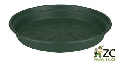 Miska Green Basics 25 cm leaf green Popis:Miska Green Basics je produkt od světoznámého výrobce Elho. Tyto misky jsou vyrobeny z recyklovaných plastů. Jsou určeny především pod květináče s otvory ze stejného materiálu (521551