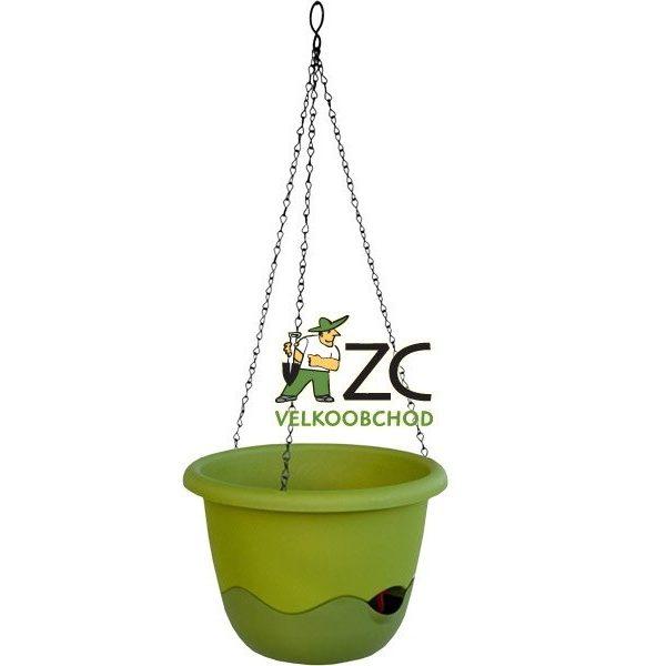 Květináč závěsný samozavlažovací Mareta 30 cm zelená světlá + tmavá Popis:Závěsný samozavlažovací květináč Mareta svým hravým barevným designem ozdobí Váš dům