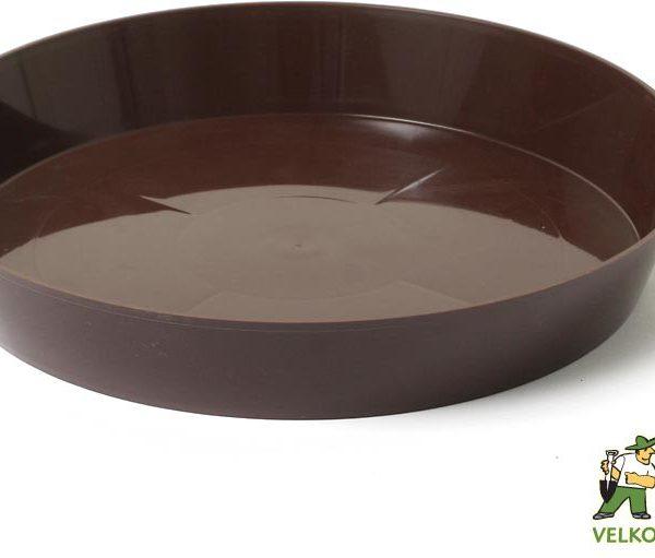 Miska Rubek 30 cm hnědá Popis:Miska v lesklém provedení v hnědé barvě