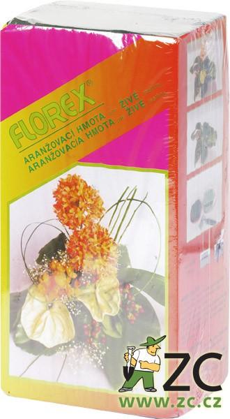 Florex - aranžovací hmota - samostatně balená Popis:Aranžovací hmota vysoké kvality pro živé rostliny samostatně balená.Rozměr:délka: 20 cm šířka: 10 cm výška: 7