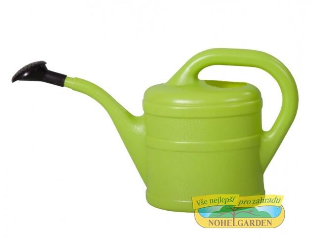 Konvička 2L s kropítkem světle zelená Plastová konev pro zalévání pokojových a balkónových květin. S kropítkem. Dodáváme v barvě oranžové