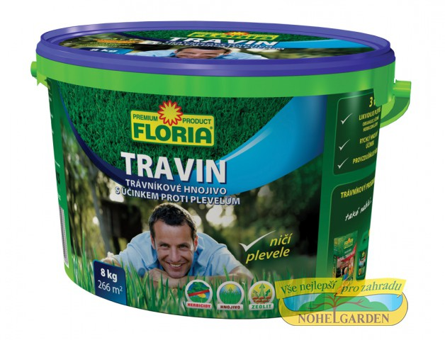 Travin 8 kg Floria složení: směs hnojiv N-P-K (14