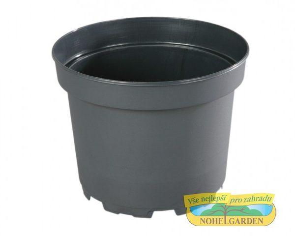 Květináč CLASSIC MCI 26 cm černý 7 l Plastový černý lehčený v půdorysu kruhový květník vyrobený vakuovým tvarováním. Používá se zejména pro předpěstování rostlin a pro umístění do různých obalů určených pro květníky s rostlinami v interiéru i v exteriéru. Rozměry: d. 26 x v. 21cm