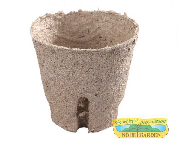 Květináč rašelinový se zářezy - průměr 6 cm Květináč rašelinový - pěstováním rostlin v rašelinových kelímcích se usnadňuje práce s odstraněním plevelů a škůdců- rostliny dosahují dobrého růstů
