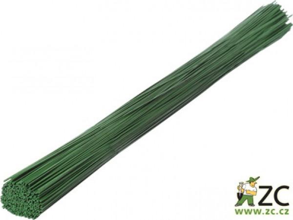 Drát sekaný - zelený 1 kg (0