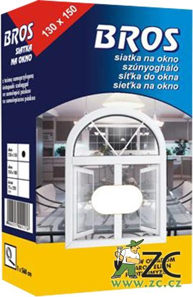 Bros - sít´ okenní 150 x 130 cm