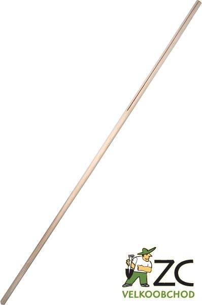 Násada - dřevřevěné hrábě (rozpínka) Popis:Smrková násada na dřevěné hrábě