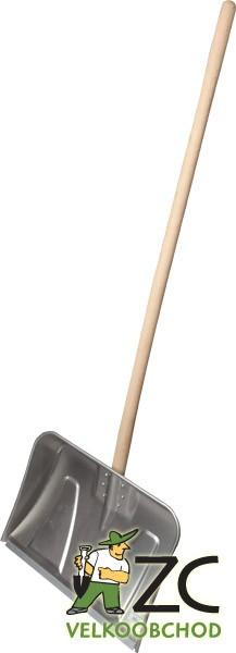 Hrablo celohliníkové 50cm s dřevěnou násadou Popis:Hliníkové hrablo na sníh.Rozměr:šířka: 50 cm