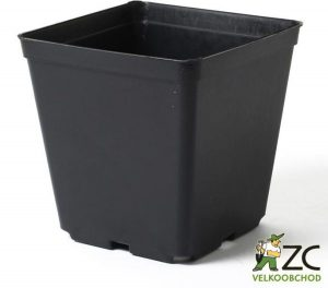 Kontejner pevná kvalita 11 x 11 x 12 cm Popis:Hranatý plastový černý kontejner pevné kvality je určený pro pěstování rostlin. Pevná kvalita znamená