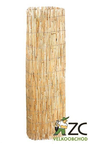 Rákos pletený - 6 x 2 m Popis a použití:Jednotlivá stébla rákosu jsou vázány pozinkovaným drátkem. Slouží k vytvoření soukromí na zahradách