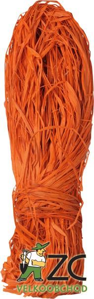 Lýko 50 g - oranžové Popis:Barvené lýko určené k dekoraci.Hmotnost:50gBarva:oranžová