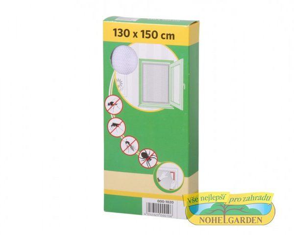 Síť okenní bílá - 130x150 cm Nevpustí žádného nevítaného návštěvníka. Ochrání Váš dům před komáry