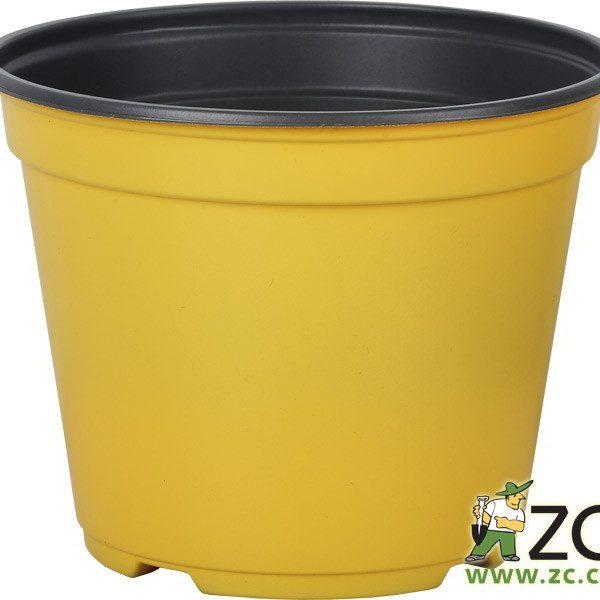 Kontejner Arca 14 cm žlutý Popis:Speciální kulatý plastový kontejner je určený pro výsadbu a pěstování rostlin. Je tenkostěnný a k dispozici v několika barvách. Svou cenou se řadí mezi levnější a lehce dostupné plasty.Materiál:plastBarva:žlutáRozměry:průměr: 14 cmvýška: 11 cm