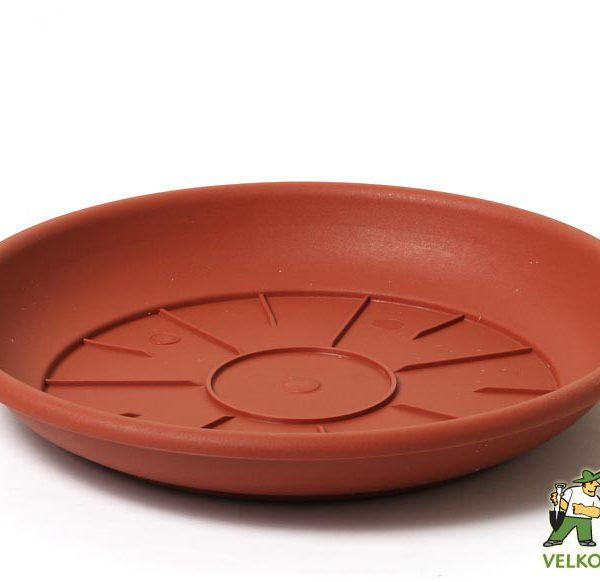 Miska Cilindro/Campana 50 cm teracota Popis:Miska v matném provedení se zahnutým lemem v barvě teracota.Materiál:plastBarva:teracotaRozměry:horní průměr: 50 cmvnitřní průměr: 35